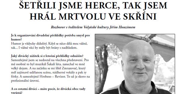 Zpravodaj Divadelního Pikniku 2014 – číslo 8