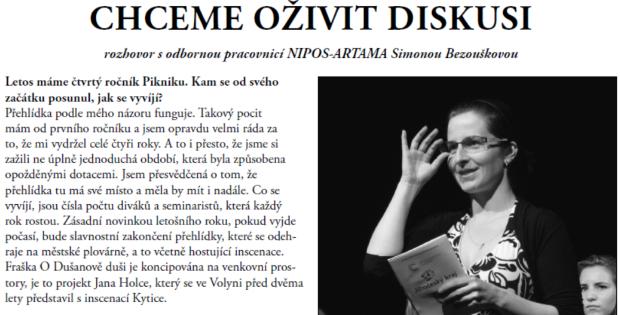 Zpravodaj Divadelního Pikniku 2015 – číslo 2