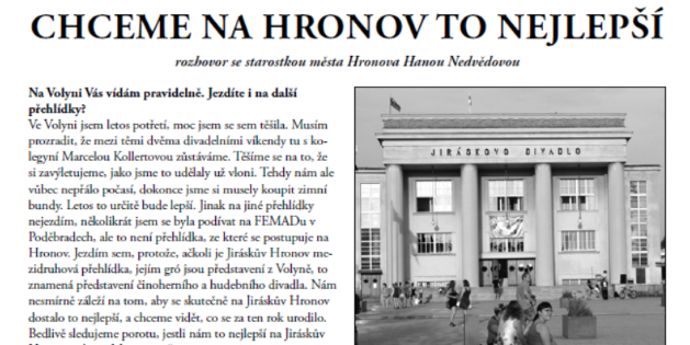 Zpravodaj Divadelního Pikniku 2015 – číslo 3