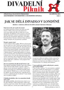 Zpravodaj Divadelního Pikniku 2015 - číslo 4