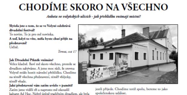 Zpravodaj Divadelního Pikniku 2015 – Číslo 5