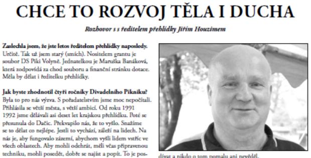 Zpravodaj Divadelního Pikniku 2015 – Číslo 8