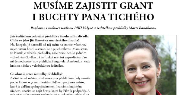 Zpravodaj Divadelního Pikniku 2016 – číslo 6