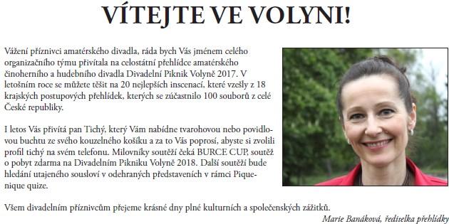 Zpravodaj Divadelního Pikniku 2017 – číslo 1